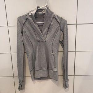 Lululemon sweater size 2 color grey